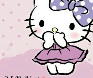 background, bow, and dots image