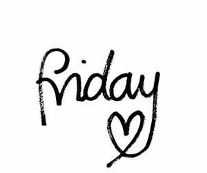 friday, love, and heart image
