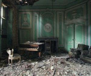 abandoned, forgotten, and green image