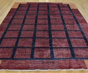 oriental rug, rugs, and red rug image