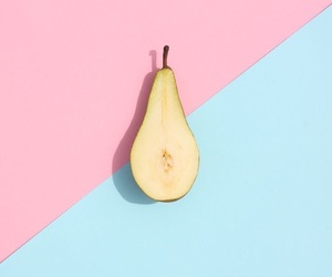 blue, pink, and pear image