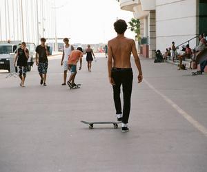 photography, skate, and skateboarding image
