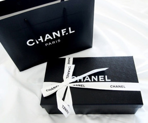 chanel, fashion, and black image