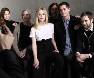 Elle Fanning and logan lerman image