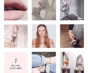 aesthetic, pink, and skam image