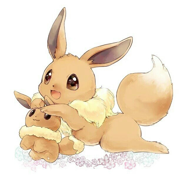 adorable, doll, and eevee image