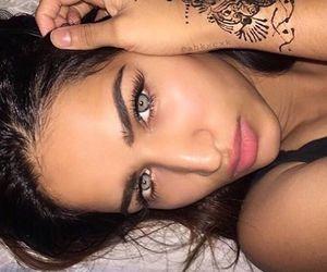 beauty, henna, and inked image