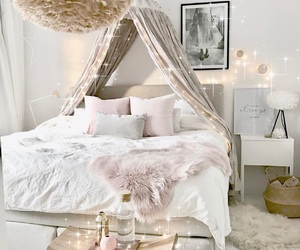 bedroom, chic, and design image