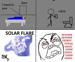 lol and solar flare image