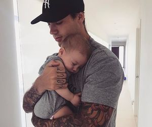 babies, daddy, and inspiration image