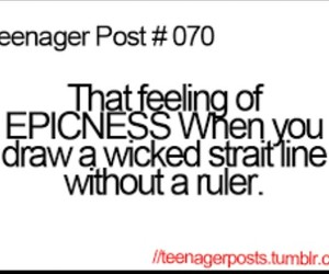 teenager post, epic, and funny image