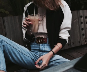 fashion, girl, and indie image