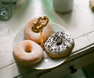 doughnuts, food, and yum image
