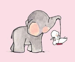 wallpaper and elephant image