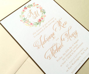etsy, wedding invitations, and wedding invites image