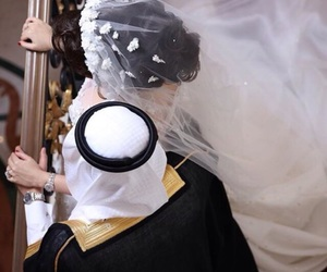 arab, wedding, and love image