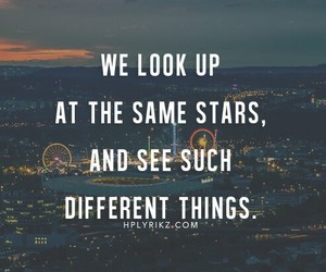 quotes, stars, and different image