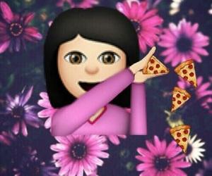 emoji and pizza image