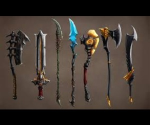 fantasy, weapons, and sharp mind image