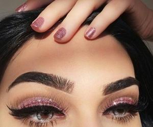 amazing, eyes, and glitter image