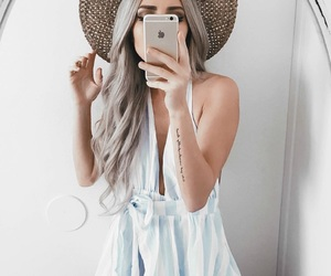 baby blue, makeup, and girl girly image
