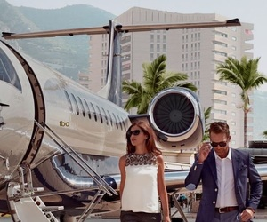 boy, girl, and millionaires image