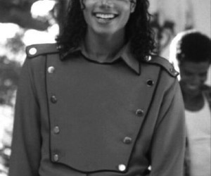 michael jackson, smile, and michaeljackson image