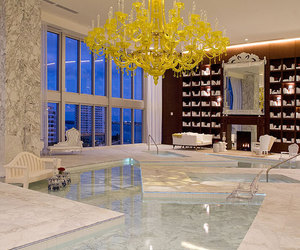 luxury, house, and yellow image