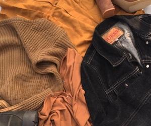 fashion, clothes, and orange image
