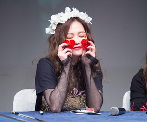 crystal clear, yeeun, and clc image