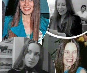 brown hair, marcheline bertrand, and angelina jolie mother image