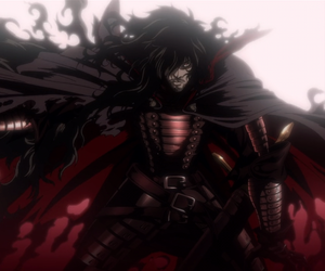 anime, hellsing, and alucard image