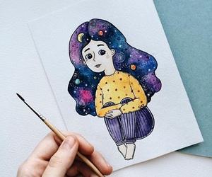 art, artist, and constellation image