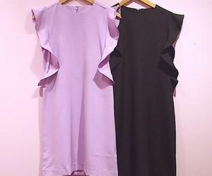 dresses, cute japanese fashion, and purple andblack image