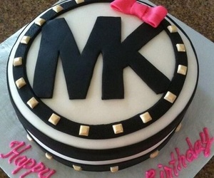 cake, Michael Kors, and black image