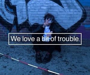 grunge, smoke, and trouble image