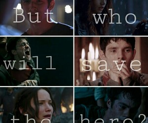 harry potter, hero, and merlin image