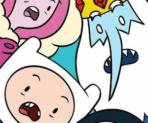 finn, adventure time, and gunter image