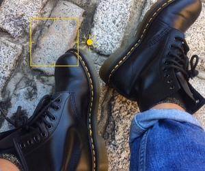 dr martens, shoes, and fashion image