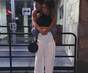 couple, maia mitchell, and goals image