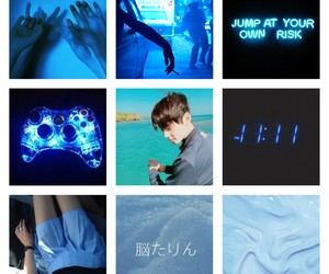 kpop, moodboard, and astro image