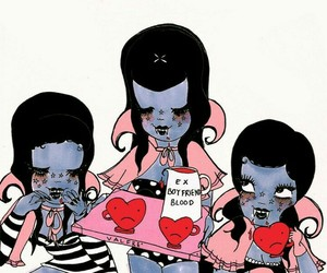 valfre, funny, and girl image