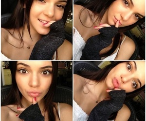 smile, kendall jenner, and selfie image