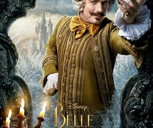 disney, beauty and the beast, and lumière image