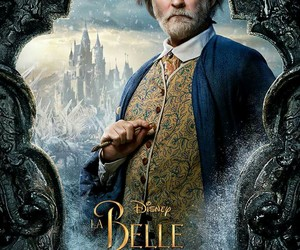 disney, beauty and the beast, and maurice image