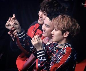 exo, baekhyun, and kyungsoo image