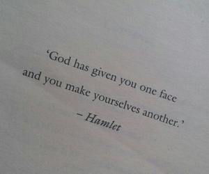 god, face, and Hamlet image