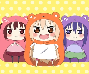 anime, kawaii, and himouto! umaru-chan image