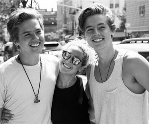 ashley tisdale, cole sprouse, and dylan sprouse image