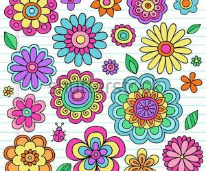 art, colourful, and doodle image